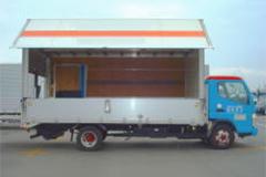 3トンウイングパワーゲート車