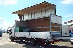 4トンウイングパワーゲート車
